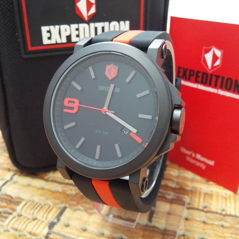 Jam Tangan Pasnew Pse280 Black Expedition E 6353 Korean Price E6392 Full 6624
